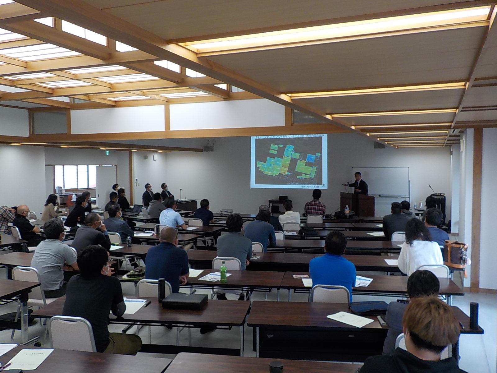 スマート農業公開講座第1回セミナーを開催!