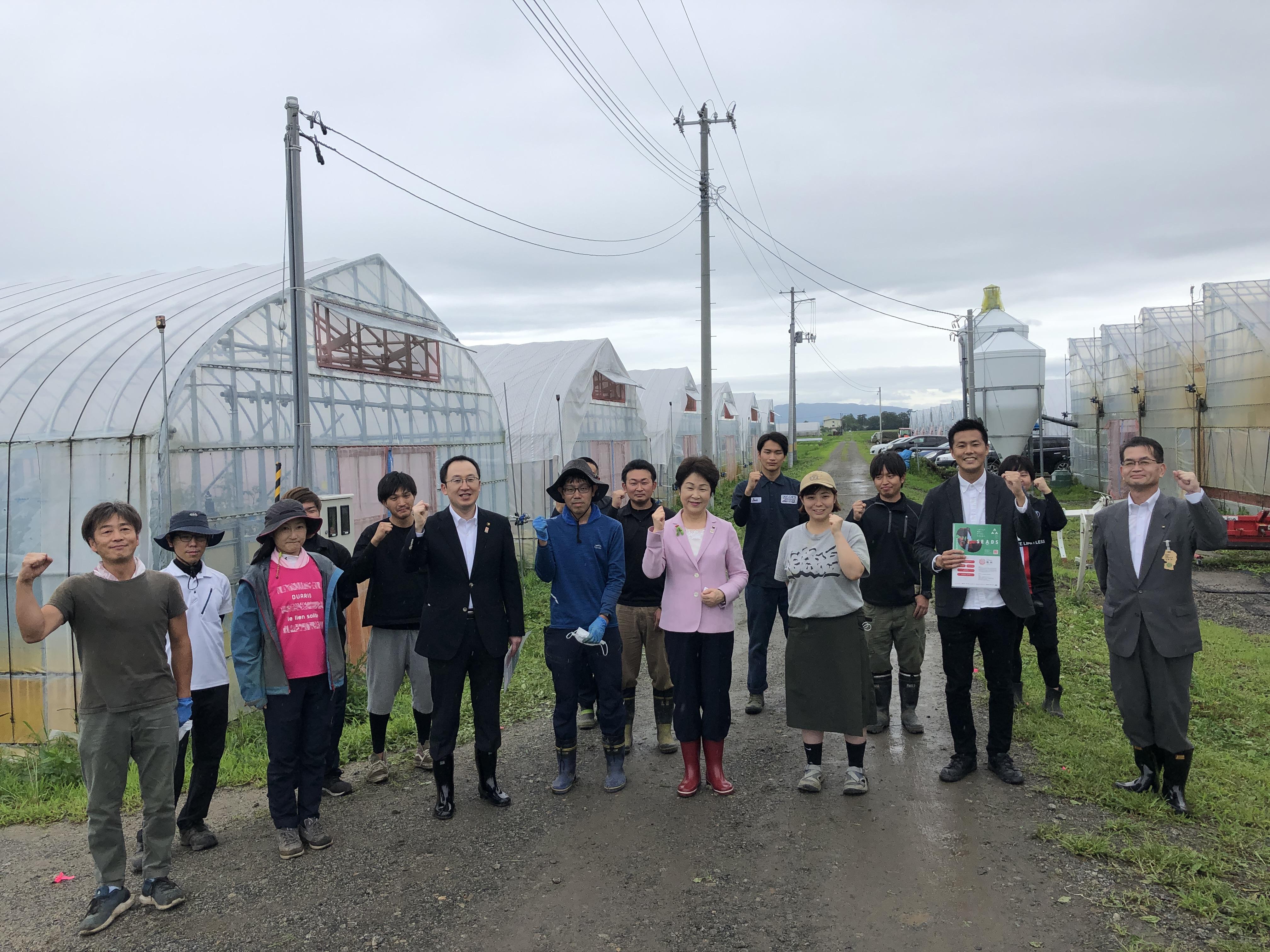 吉村 山形県知事と懇談しました